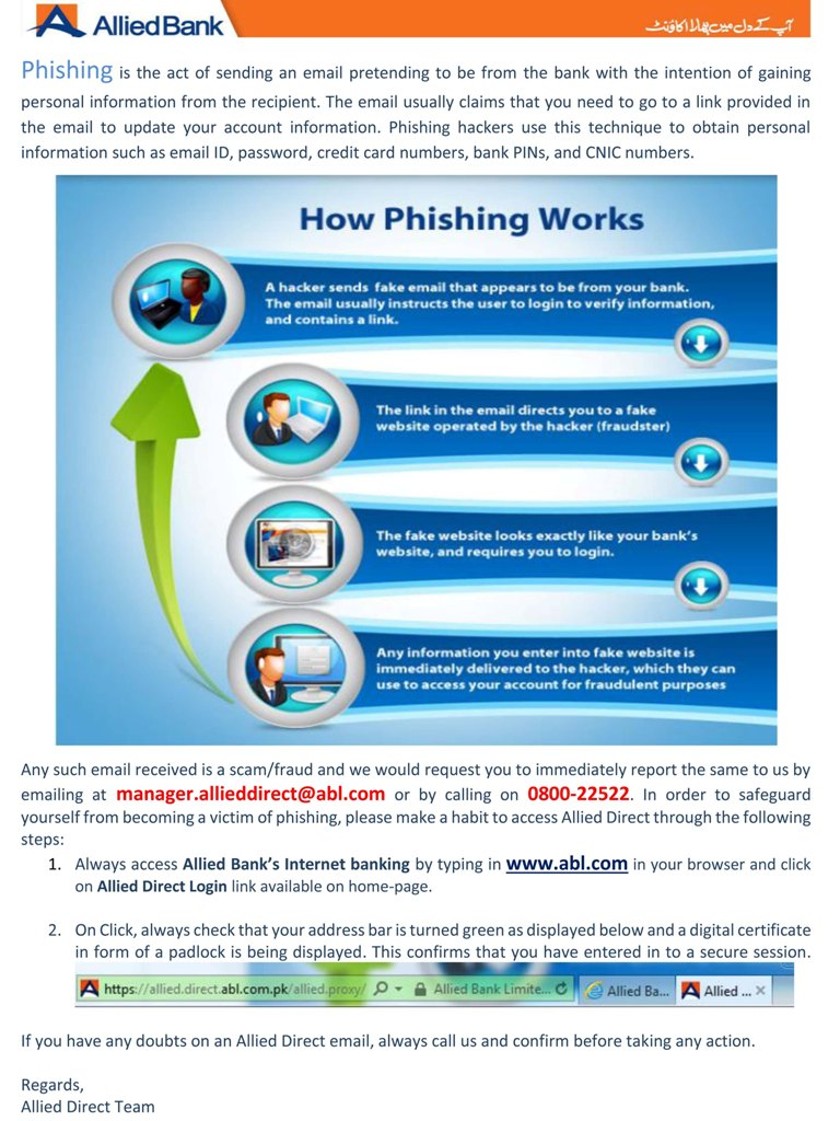 All About Phishing