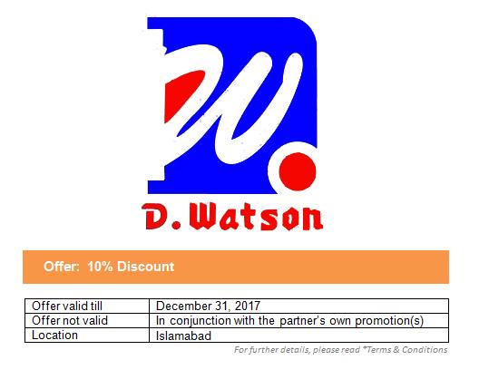 D Watson Chemist