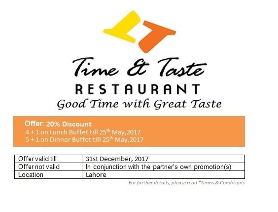 Time & Taste Resturant