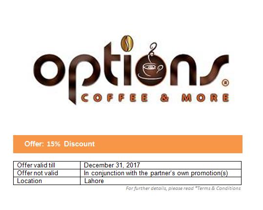 Options Coffee Shop