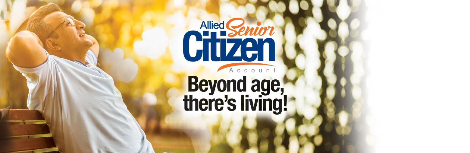 allied senior citizen account
